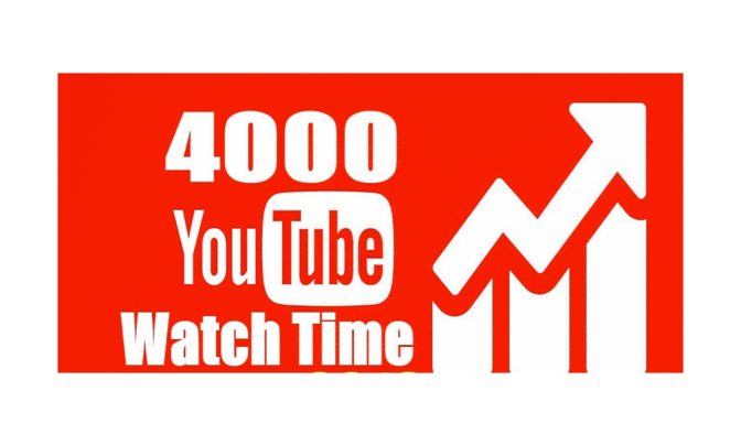 By buying YouTube watch time, you will have a continuous growth of your account but more accelerated